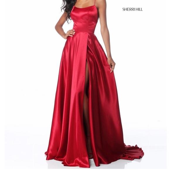 Sherri Hill Dresses & Skirts - Sherri Hill red prom dress 51631